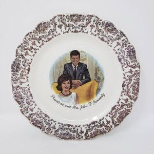 Vintage President and Mrs. John F. Kennedy Collect